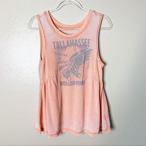Free People Tallahassee Roller Rink Tank
